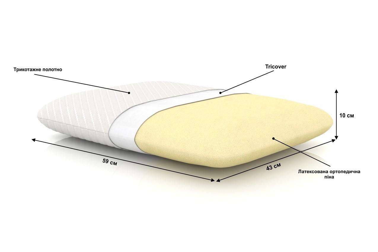 Ортопедическая подушка Pacific X от ТМ Gutenkauf в интернет-магазине
