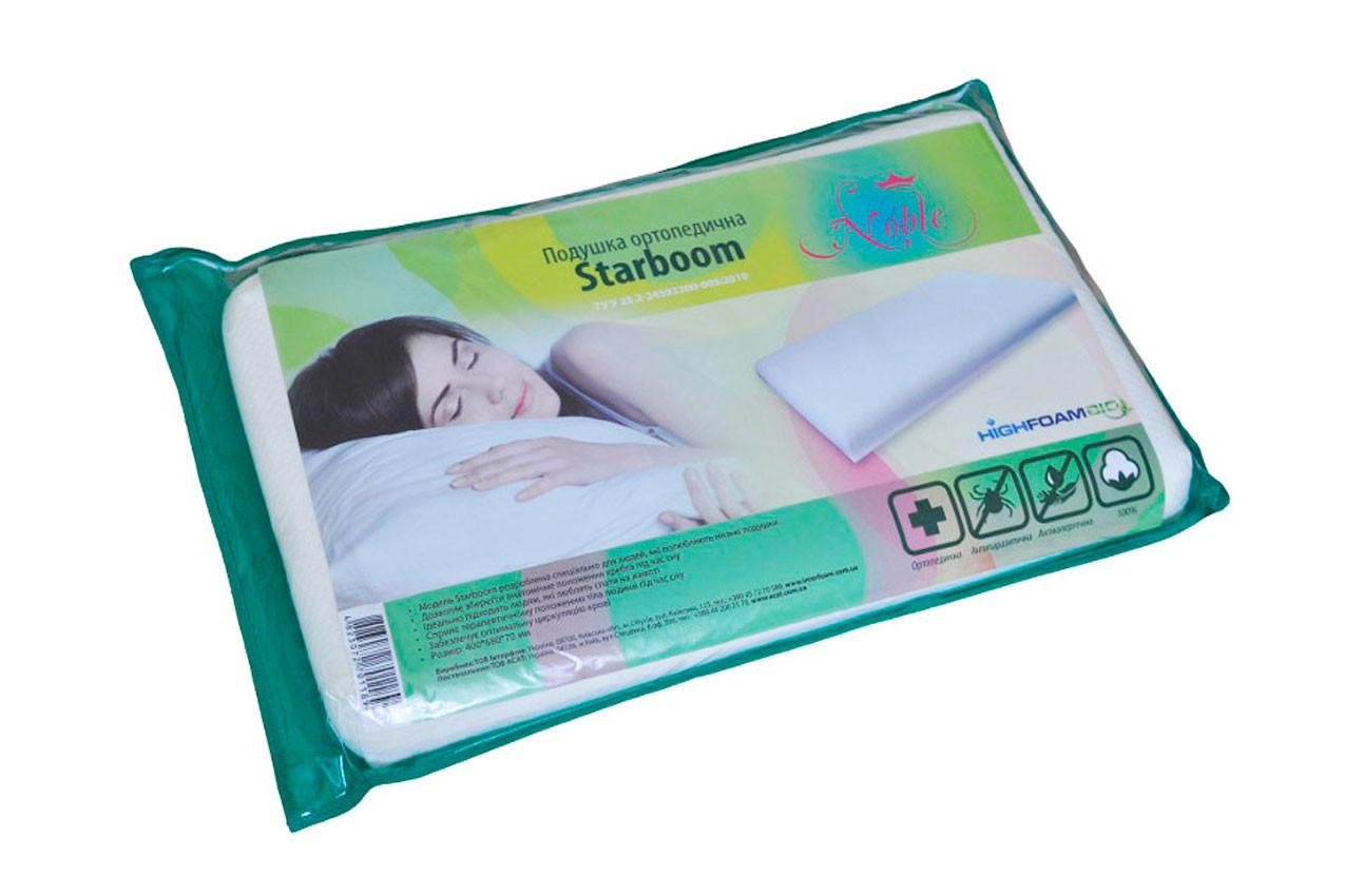 Ортопедическая подушка StarBoom от ТМ Highfoam - Noble в Украине