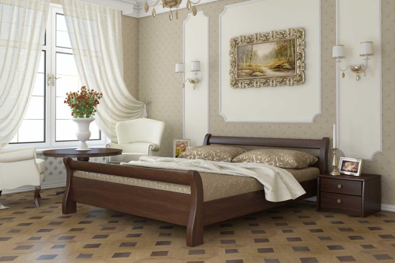 Фото Деревянная кровать Диана от ТМ ЭСТЕЛЛА