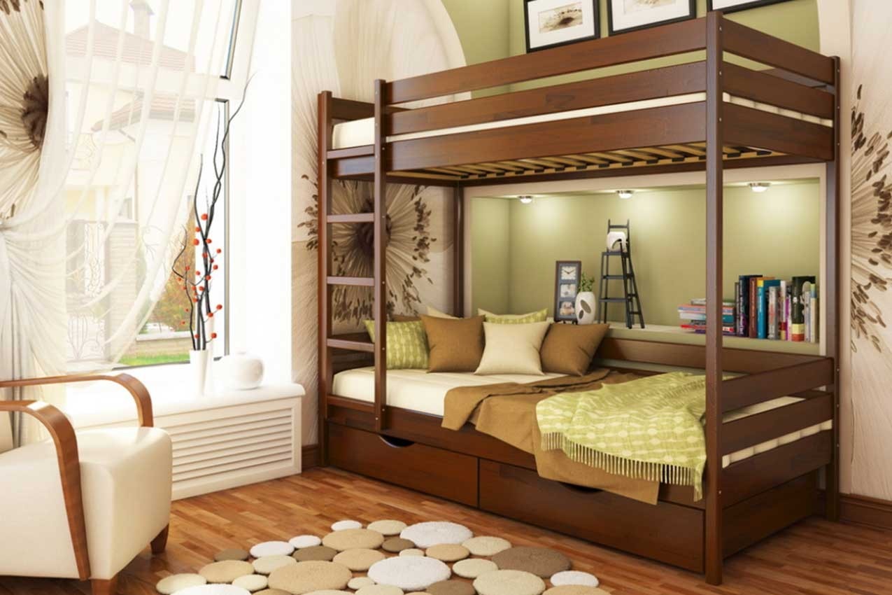 Фото Двухъярусная кровать Дуэт от ТМ ЭСТЕЛЛА