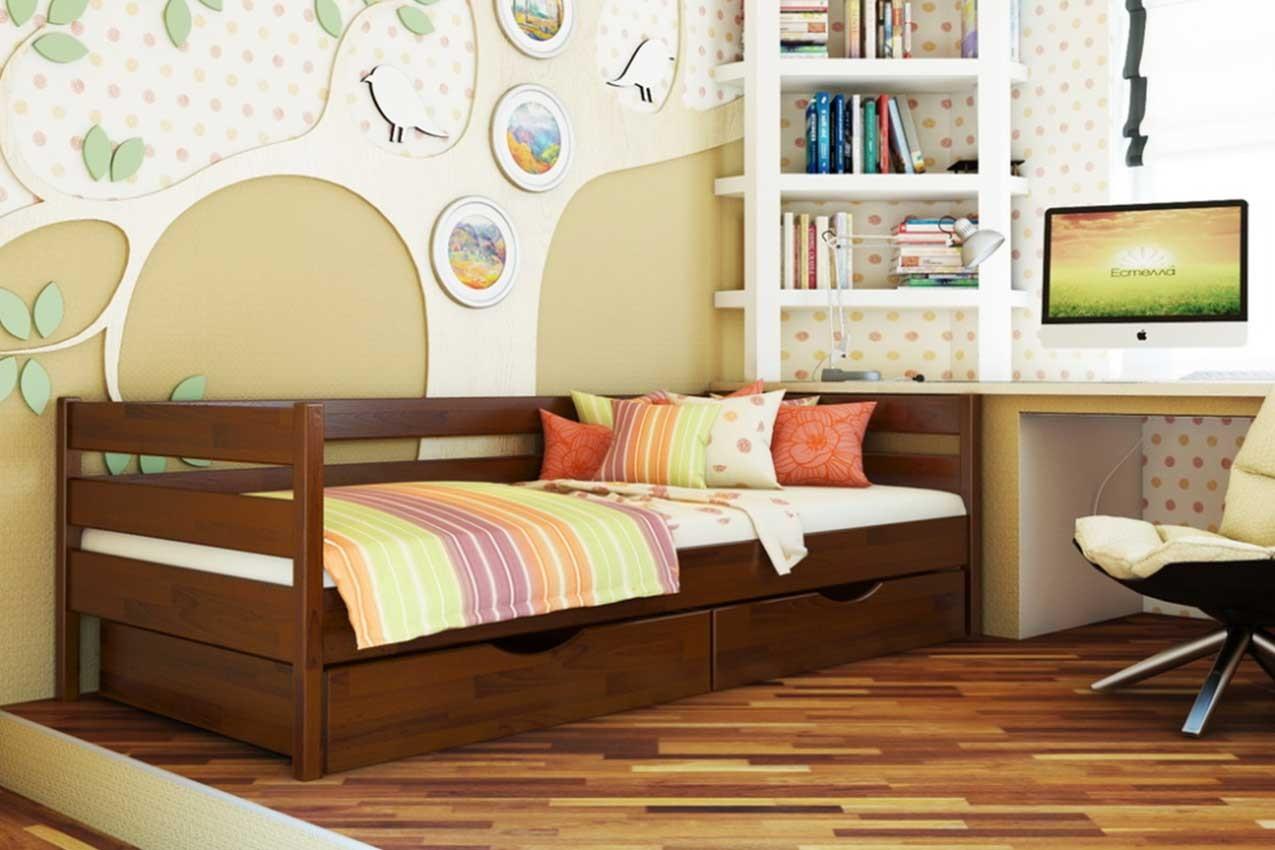 Фото Детская кровать Нота от ТМ ЭСТЕЛЛА