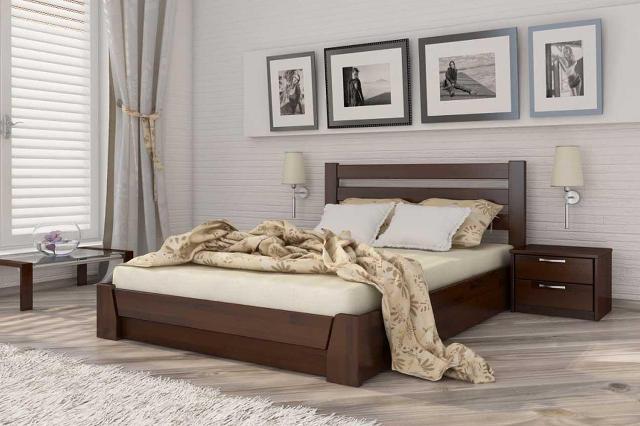 Фото Деревянная кровать Селена от ТМ ЭСТЕЛЛА