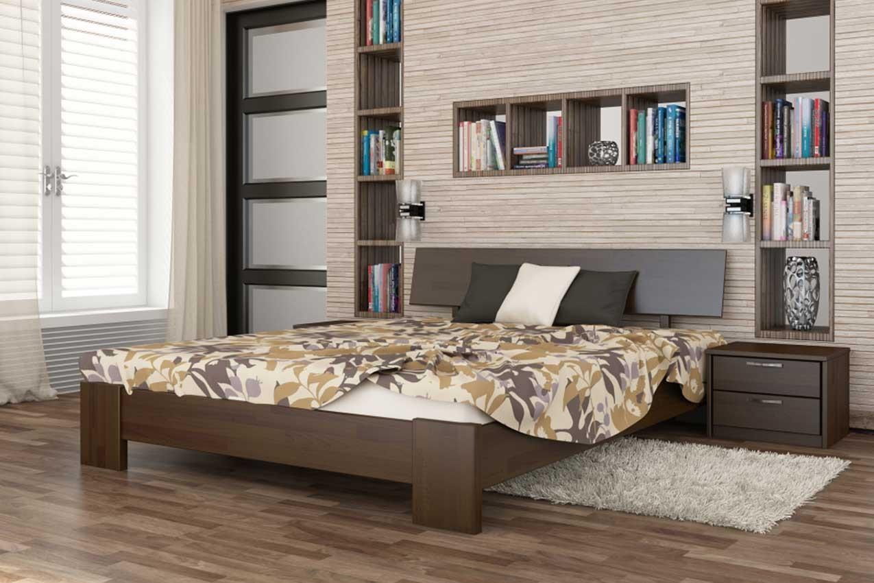 Фото Деревянная кровать Титан от ТМ ЭСТЕЛЛА