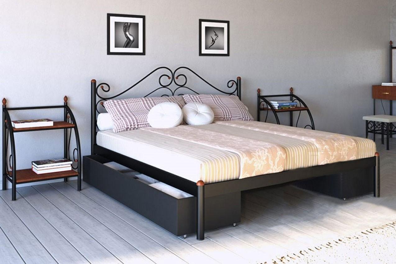 Фото Металлическая кровать Адель от ТМ Металл-Дизайн
