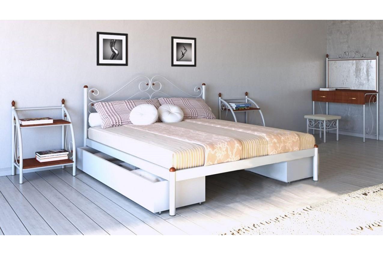 Металлическая кровать Адель от ТМ Металл-Дизайн недорого