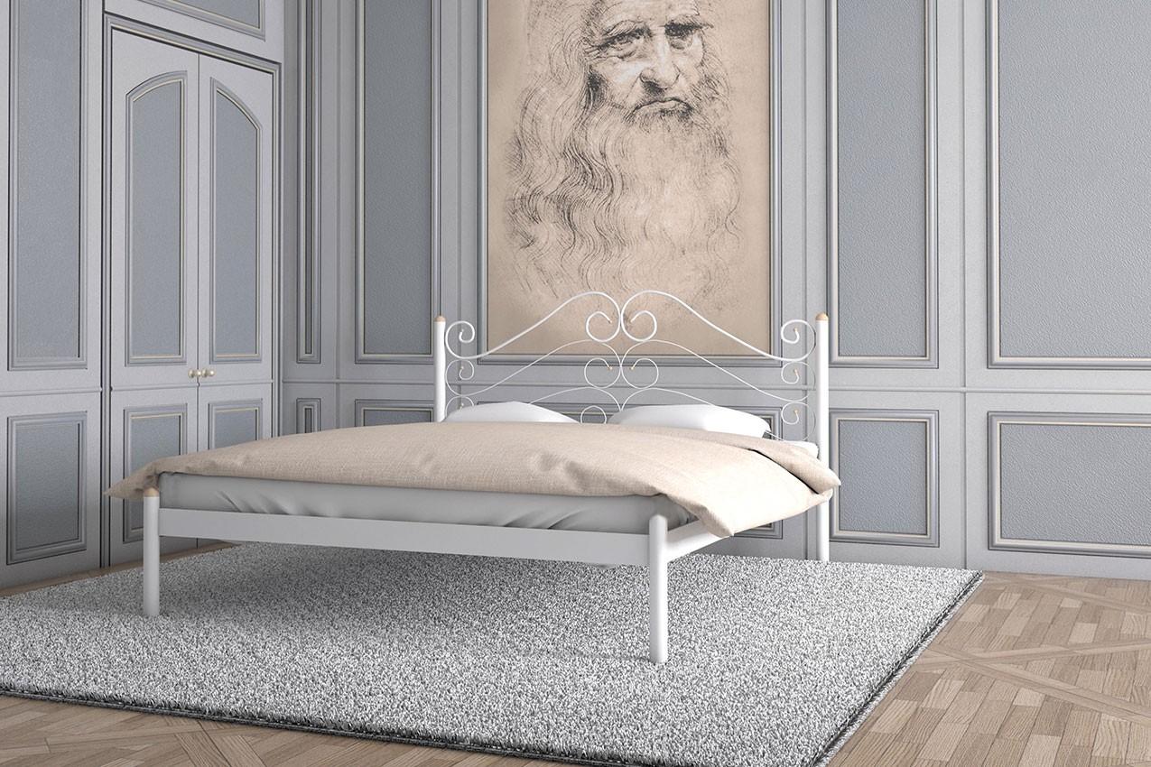 Металлическая кровать Адель от ТМ Металл-Дизайн в интернет-магазине