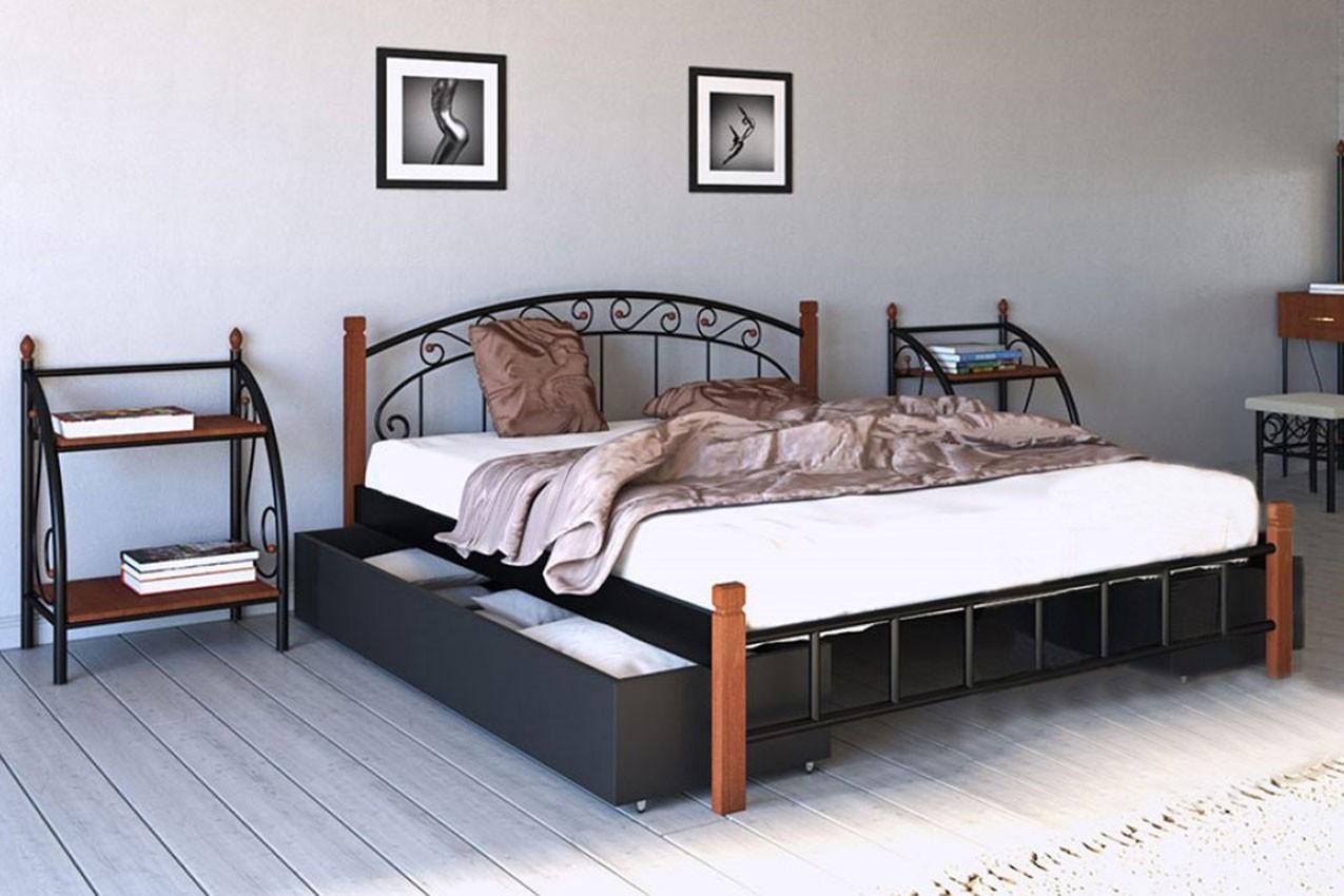 Фото Металлическая кровать Афина от ТМ Металл-Дизайн