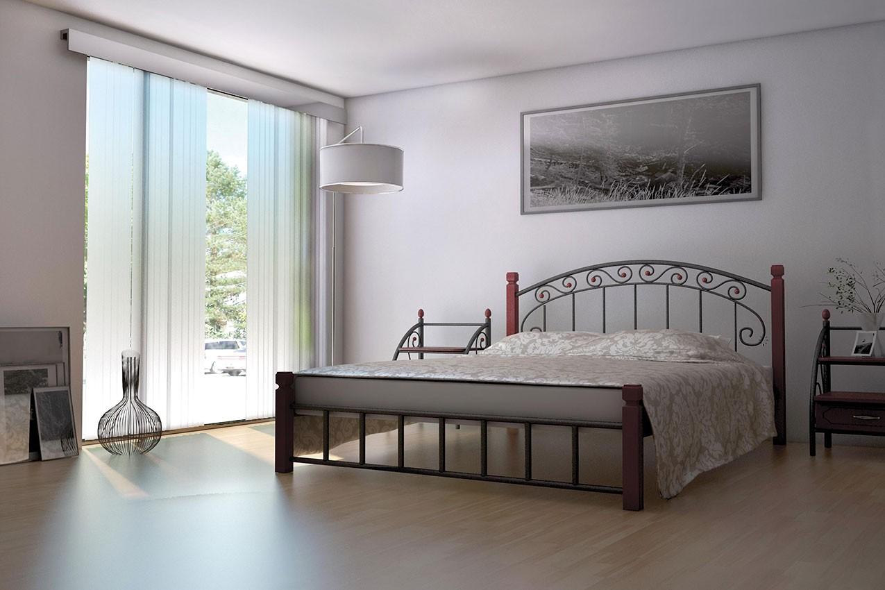 Металлическая кровать Афина от ТМ Металл-Дизайн недорого