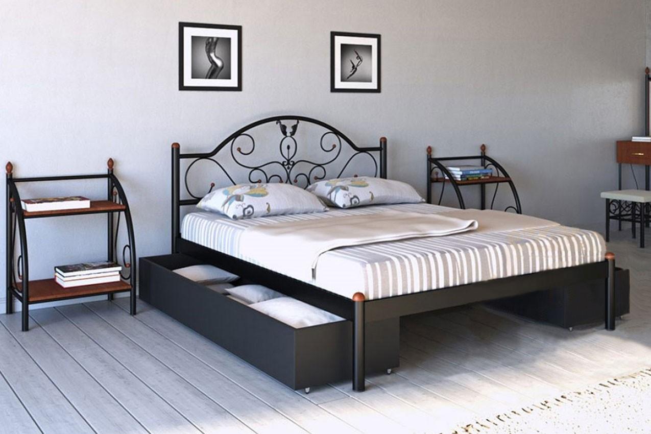 Фото Металлическая кровать Анжелика от ТМ Металл-Дизайн
