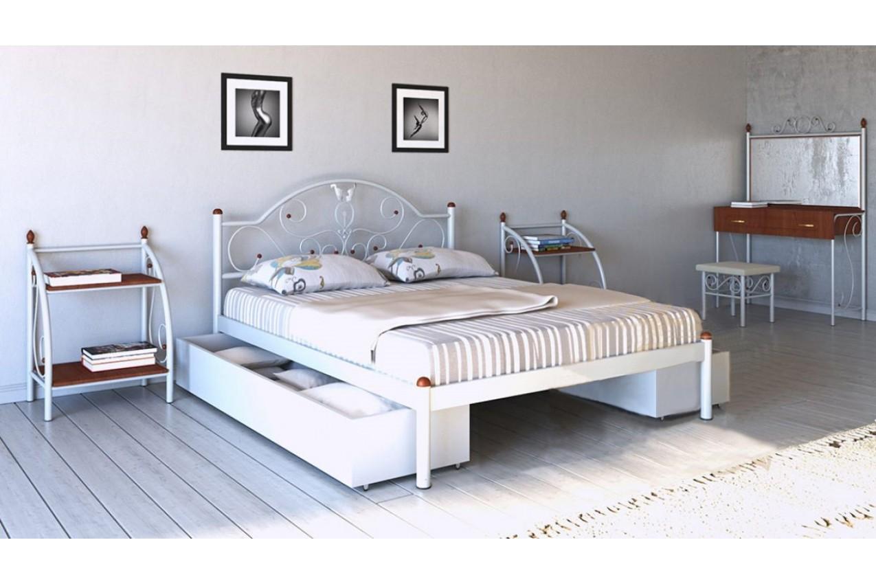 Металлическая кровать Анжелика от ТМ Металл-Дизайн недорого