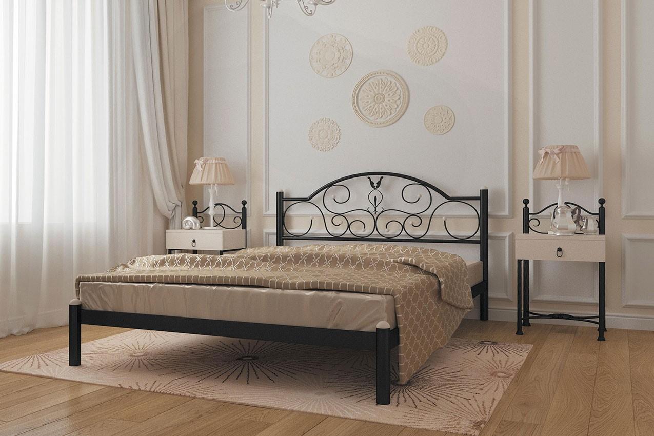Металлическая кровать Анжелика от ТМ Металл-Дизайн в Украине