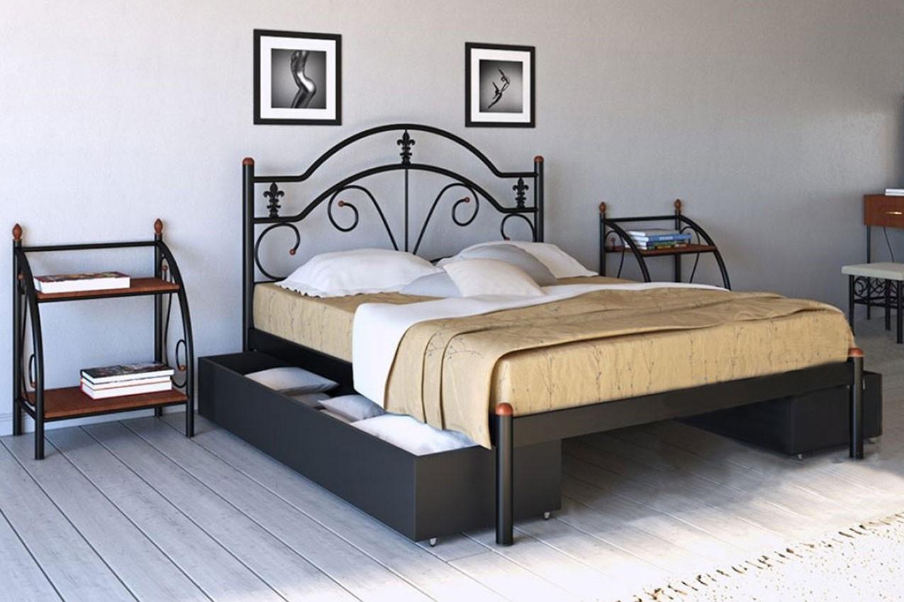 Фото Металлическая кровать Диана от ТМ Металл-Дизайн