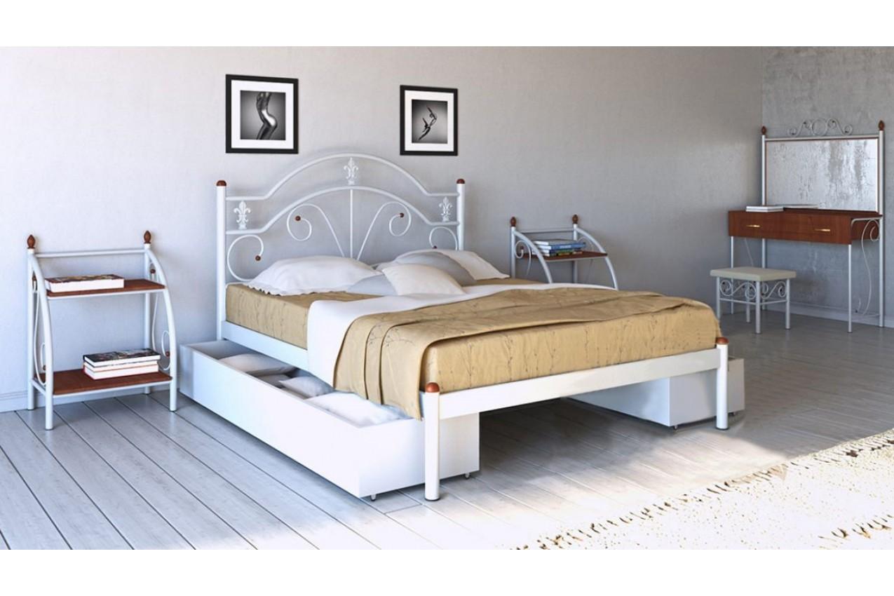 Металлическая кровать Диана от ТМ Металл-Дизайн недорого