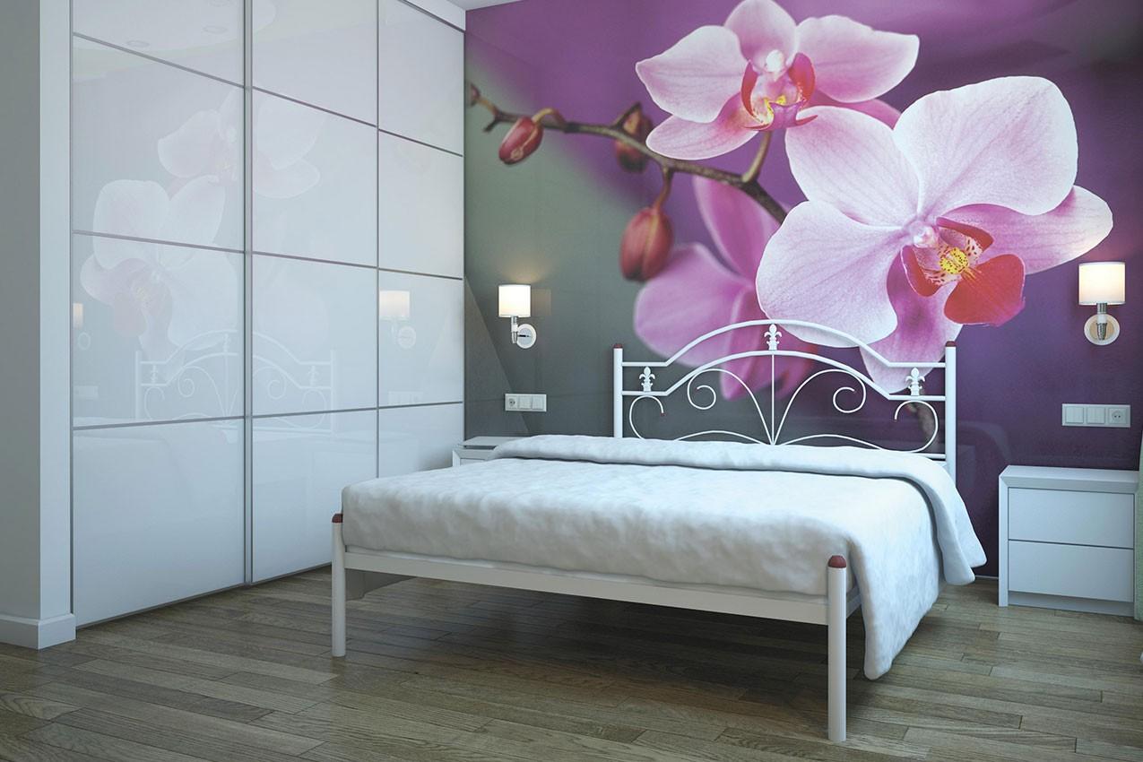 Металлическая кровать Диана от ТМ Металл-Дизайн в Украине