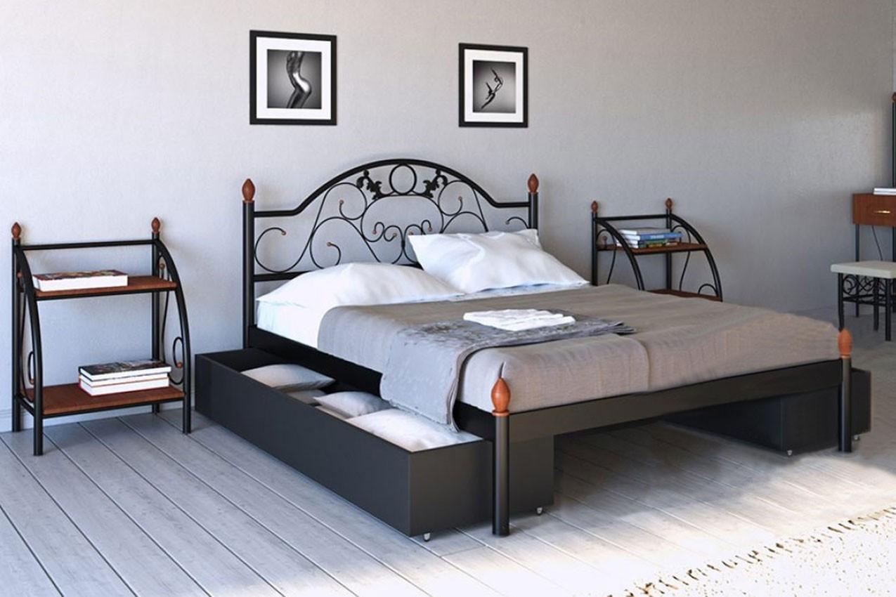 Фото Металлическая кровать Франческа от ТМ Металл-Дизайн