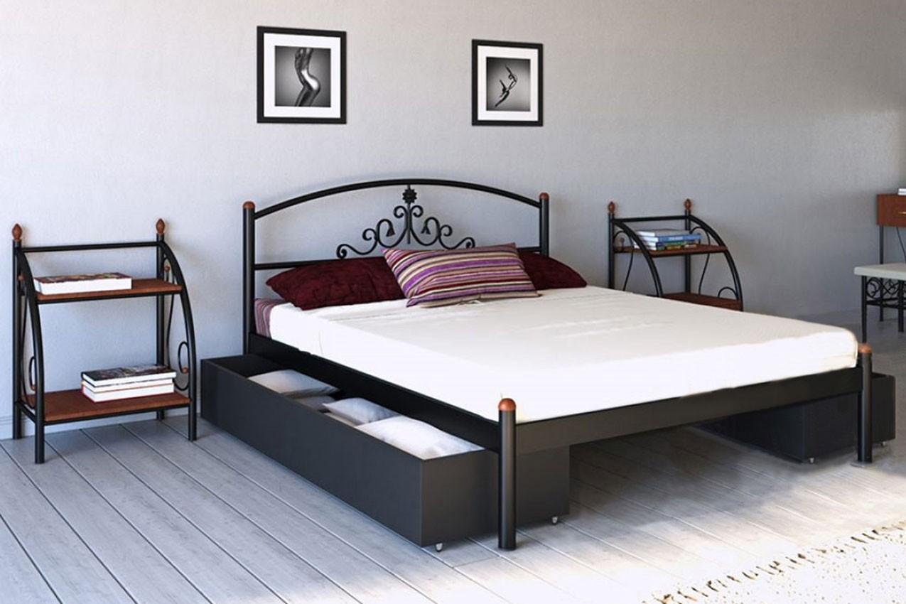 Фото Металлическая кровать Кассандра от ТМ Металл-Дизайн