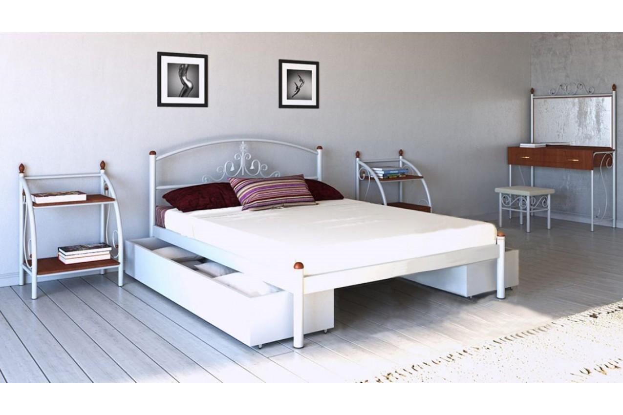 Металлическая кровать Кассандра от ТМ Металл-Дизайн недорого