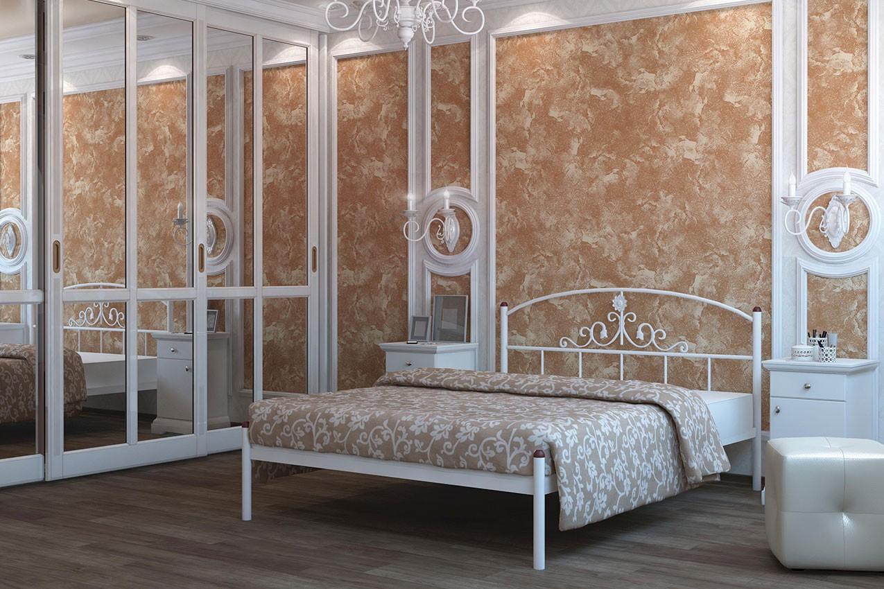 Металлическая кровать Кассандра от ТМ Металл-Дизайн в Украине