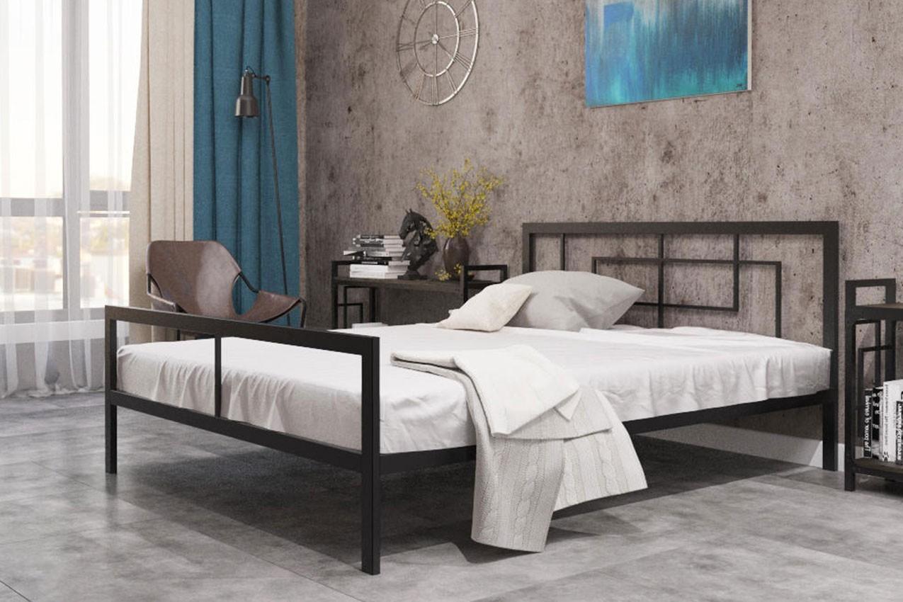 Фото Металлическая кровать Квадро кровать от ТМ Металл-Дизайн