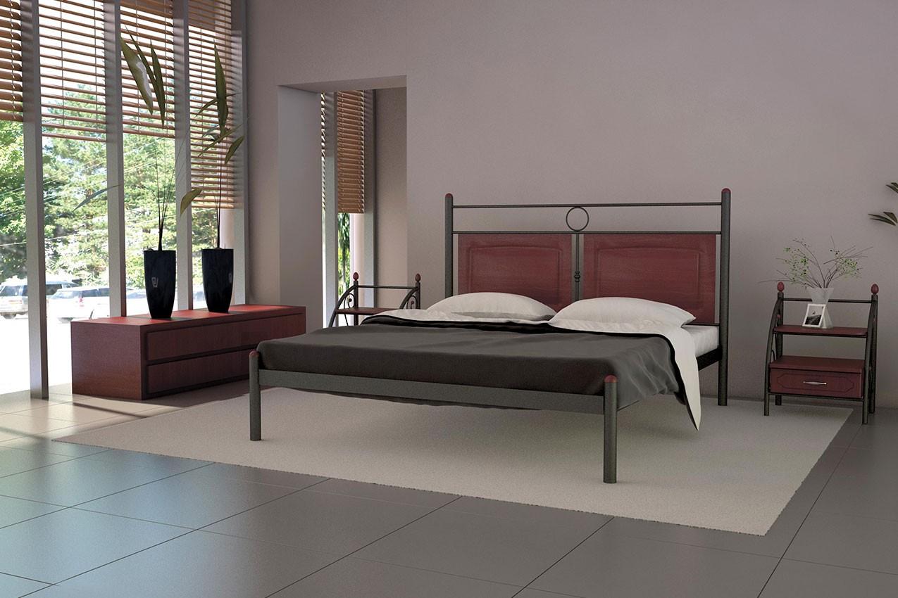 Фото Металлическая кровать Николь от ТМ Металл-Дизайн