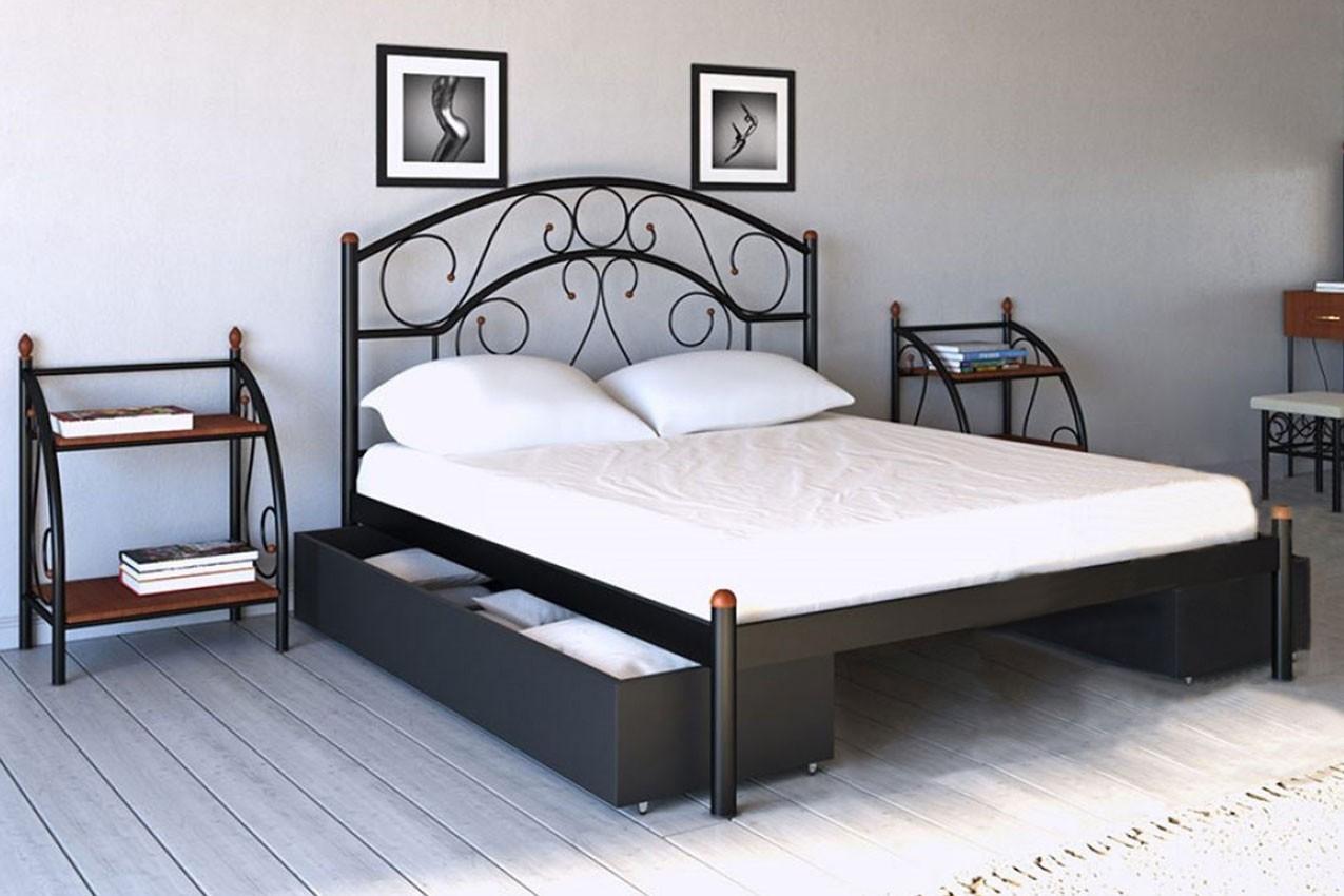 Фото Металлическая кровать Скарлет от ТМ Металл-Дизайн