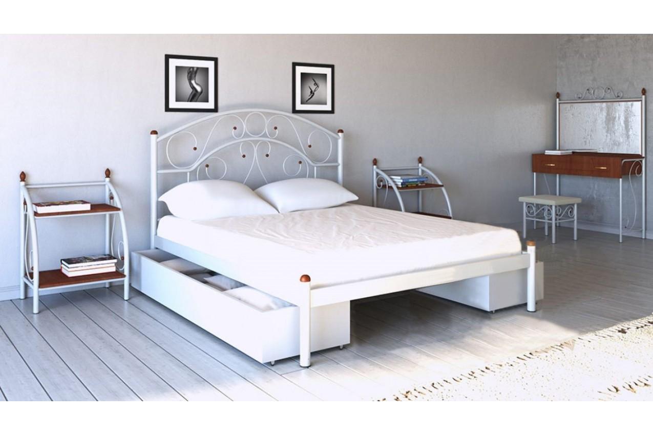 Металлическая кровать Скарлет от ТМ Металл-Дизайн недорого