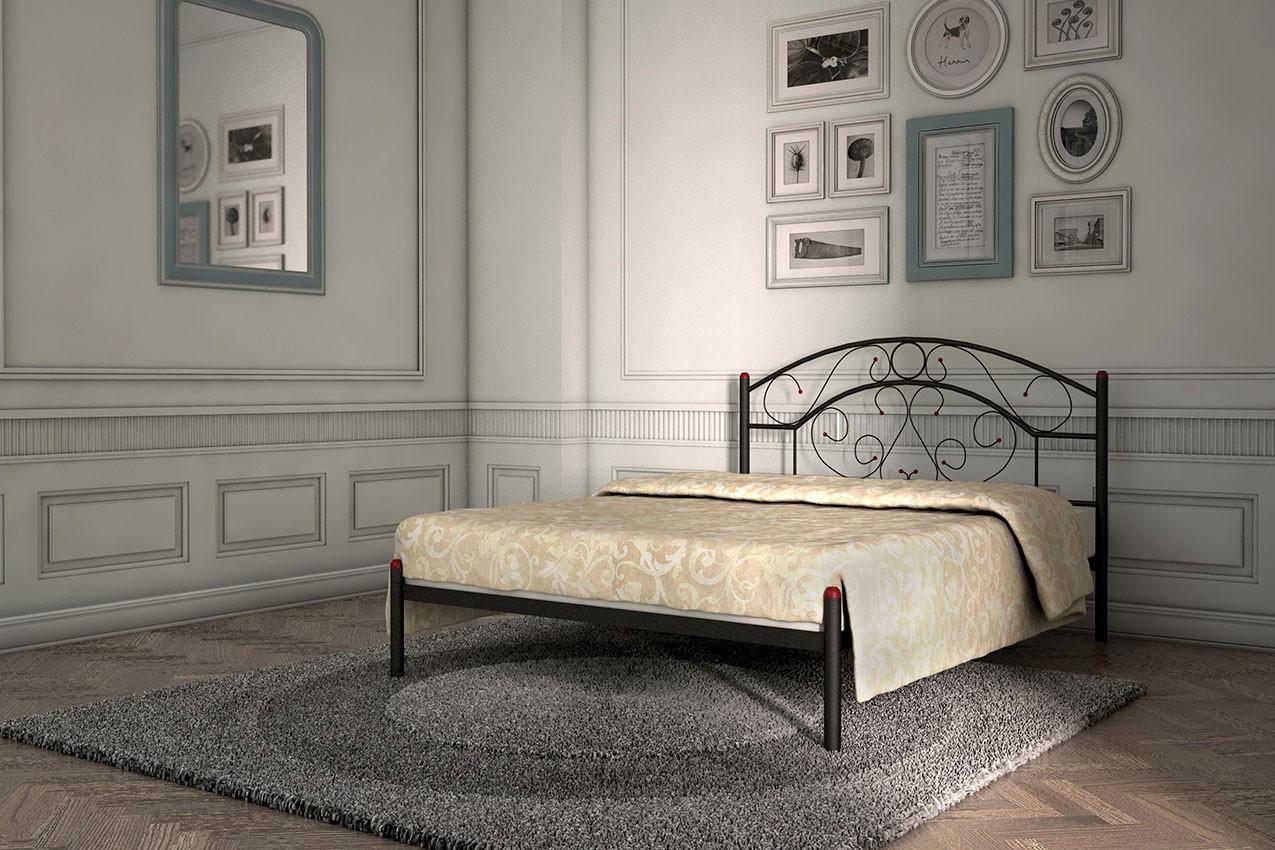 Металлическая кровать Скарлет от ТМ Металл-Дизайн в Украине