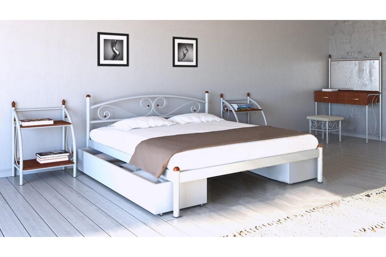 Металлическая кровать Вероника от ТМ Металл-Дизайн недорого