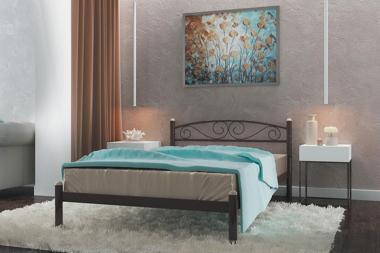 Металлическая кровать Вероника от ТМ Металл-Дизайн в Украине