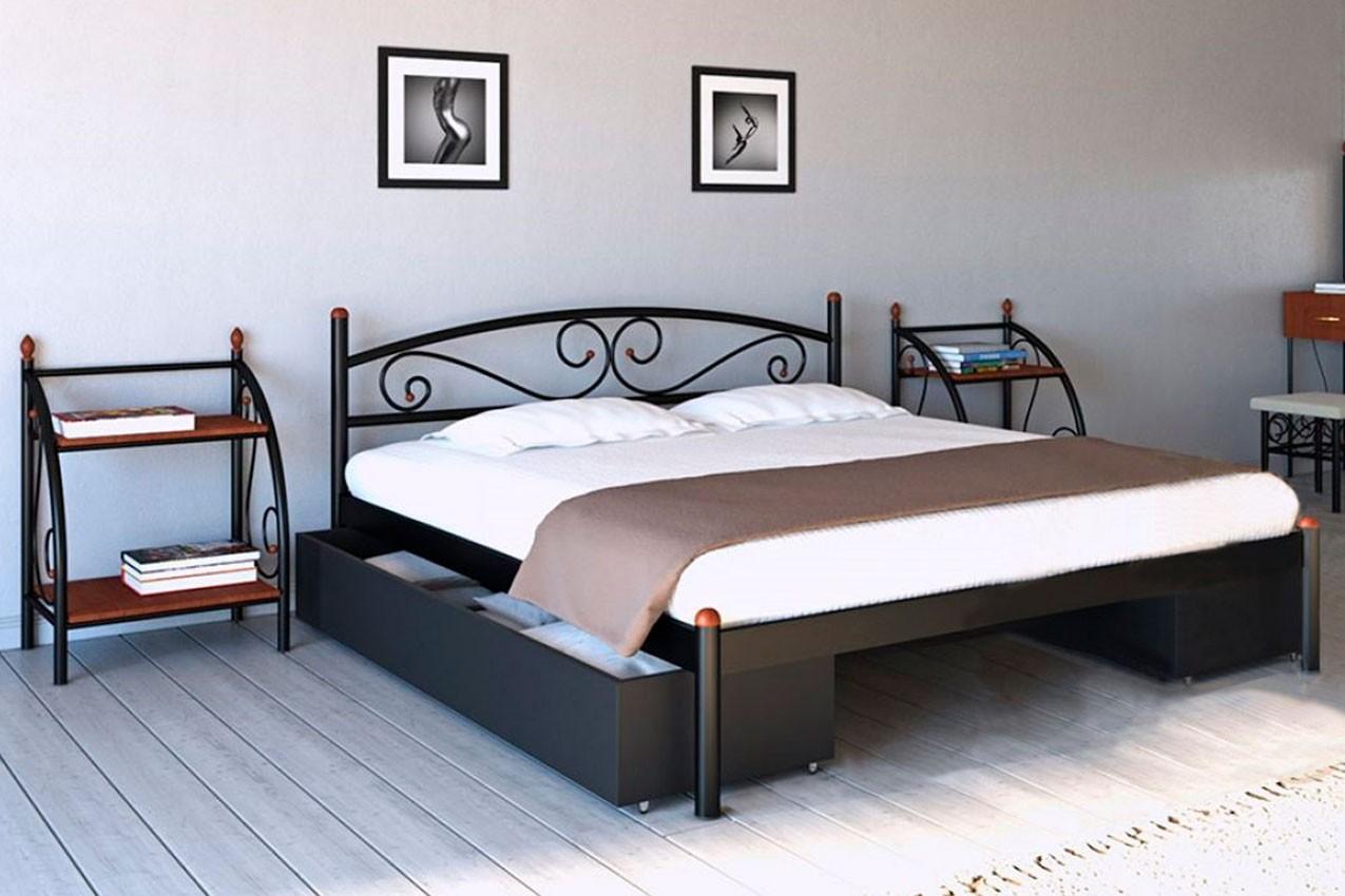 Фото Металлическая кровать Вероника от ТМ Металл-Дизайн