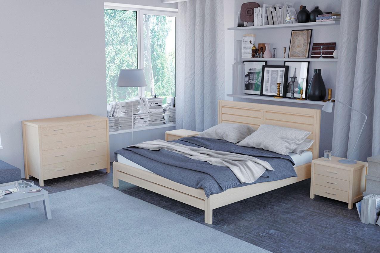 Фото Деревянная кровать Эйдин от ТМ MUNGER