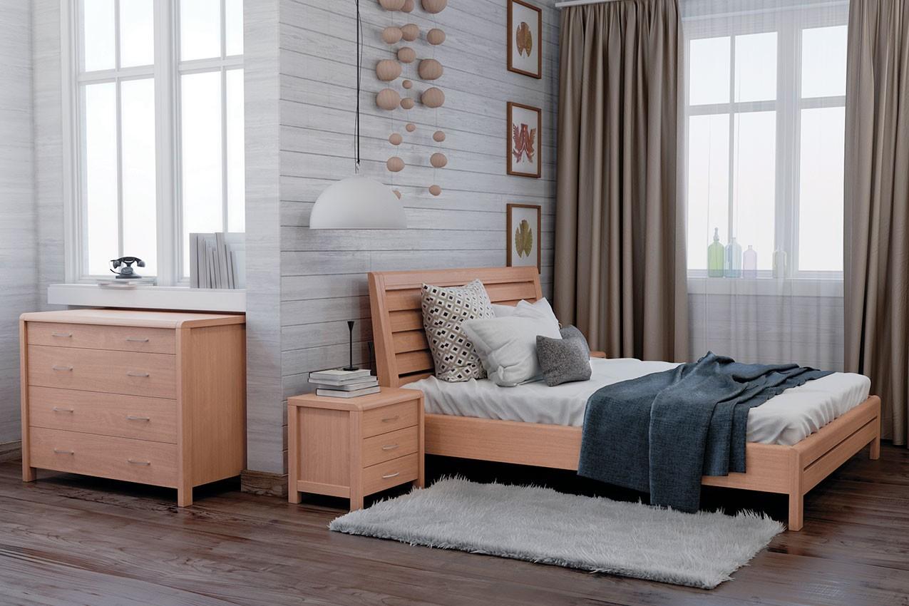 Фото Деревянная кровать Ината от ТМ MUNGER