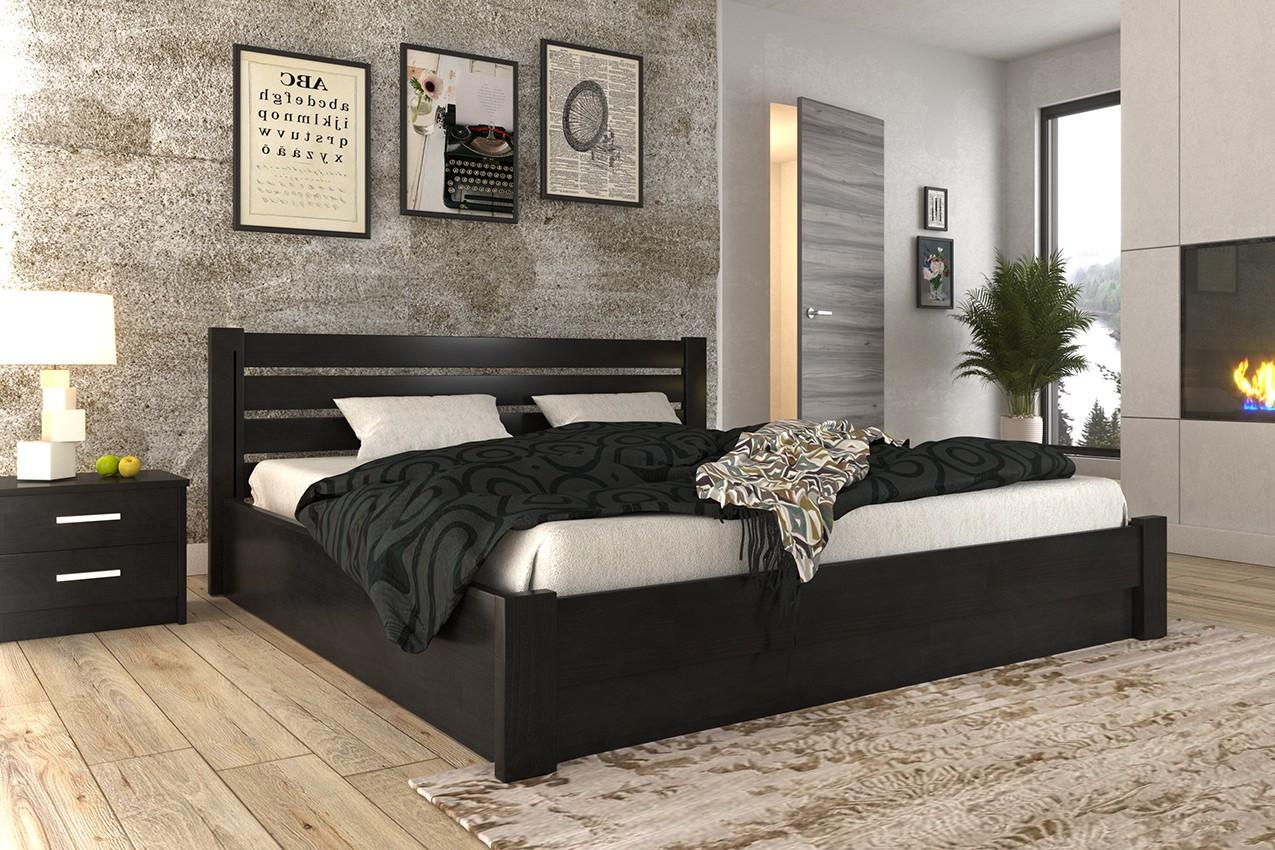 Фото Деревянная кровать Джолента от ТМ MUNGER