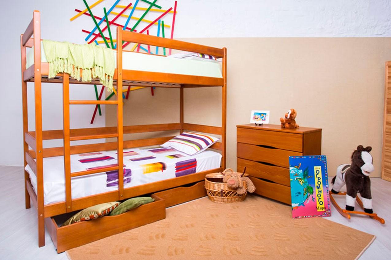 Деревянная кровать Амели от ТМ Олимп недорого
