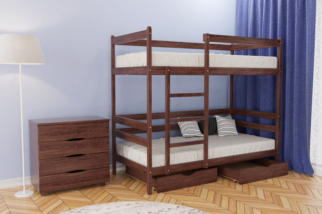 Фото Деревянная кровать Амели от ТМ Олимп