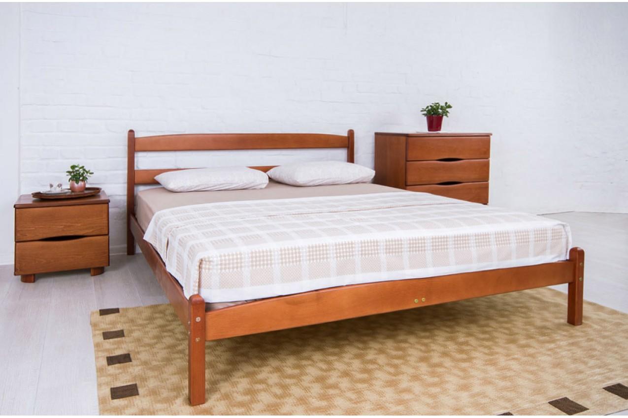 Фото Деревянная кровать Лика без изножья от ТМ Олимп