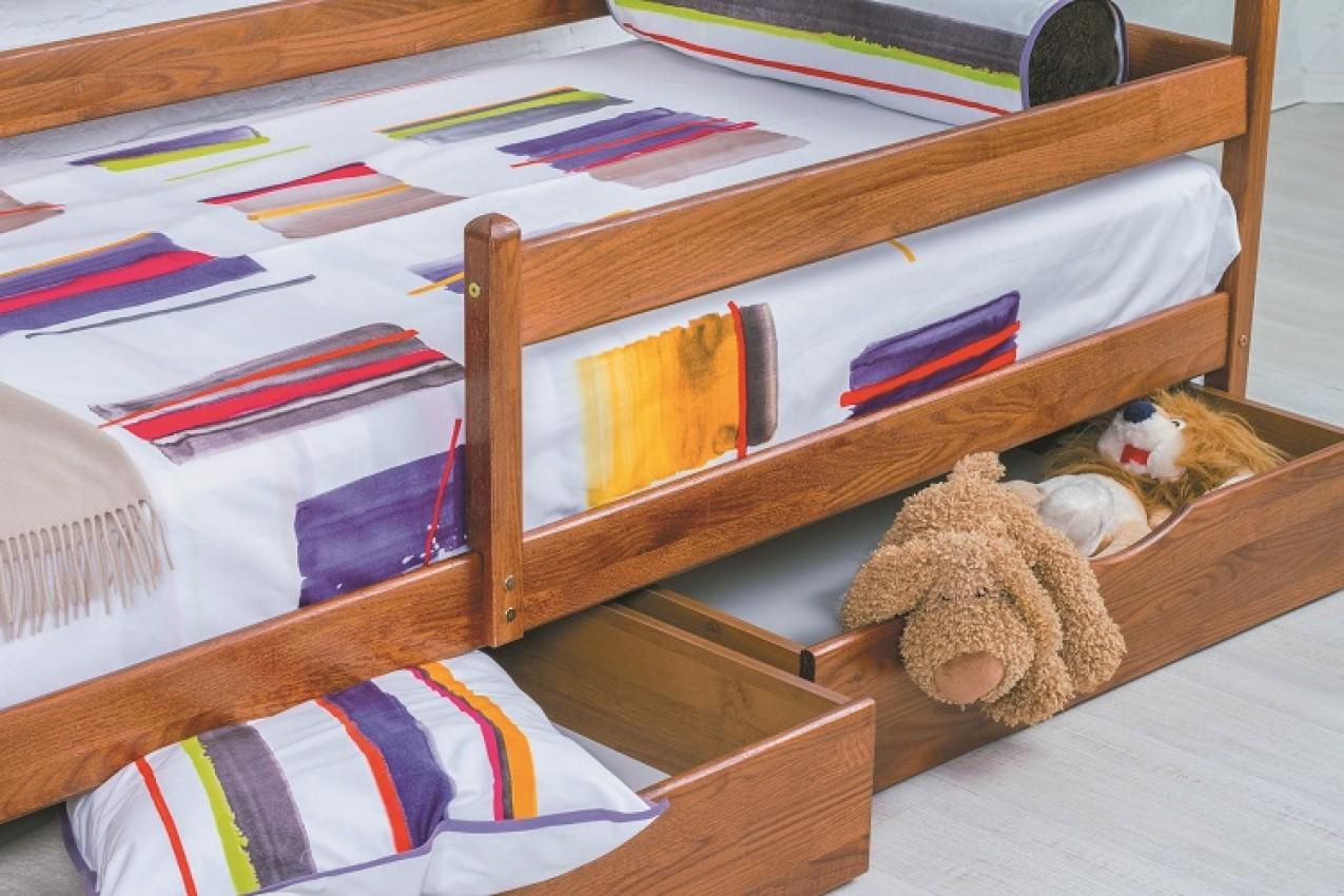 Деревянная кровать Марио от ТМ Олимп недорого