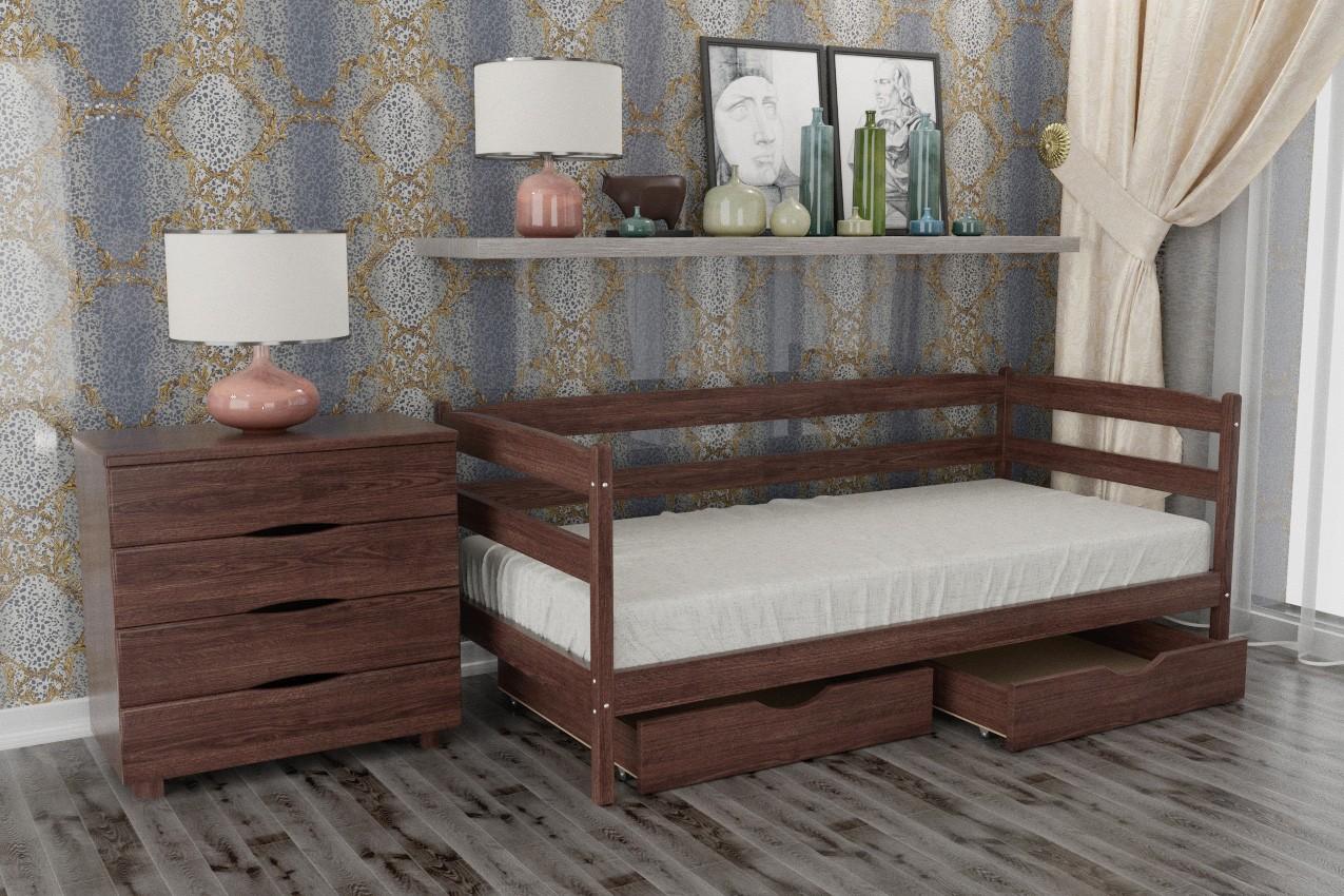 Фото Деревянная кровать Марио от ТМ Олимп