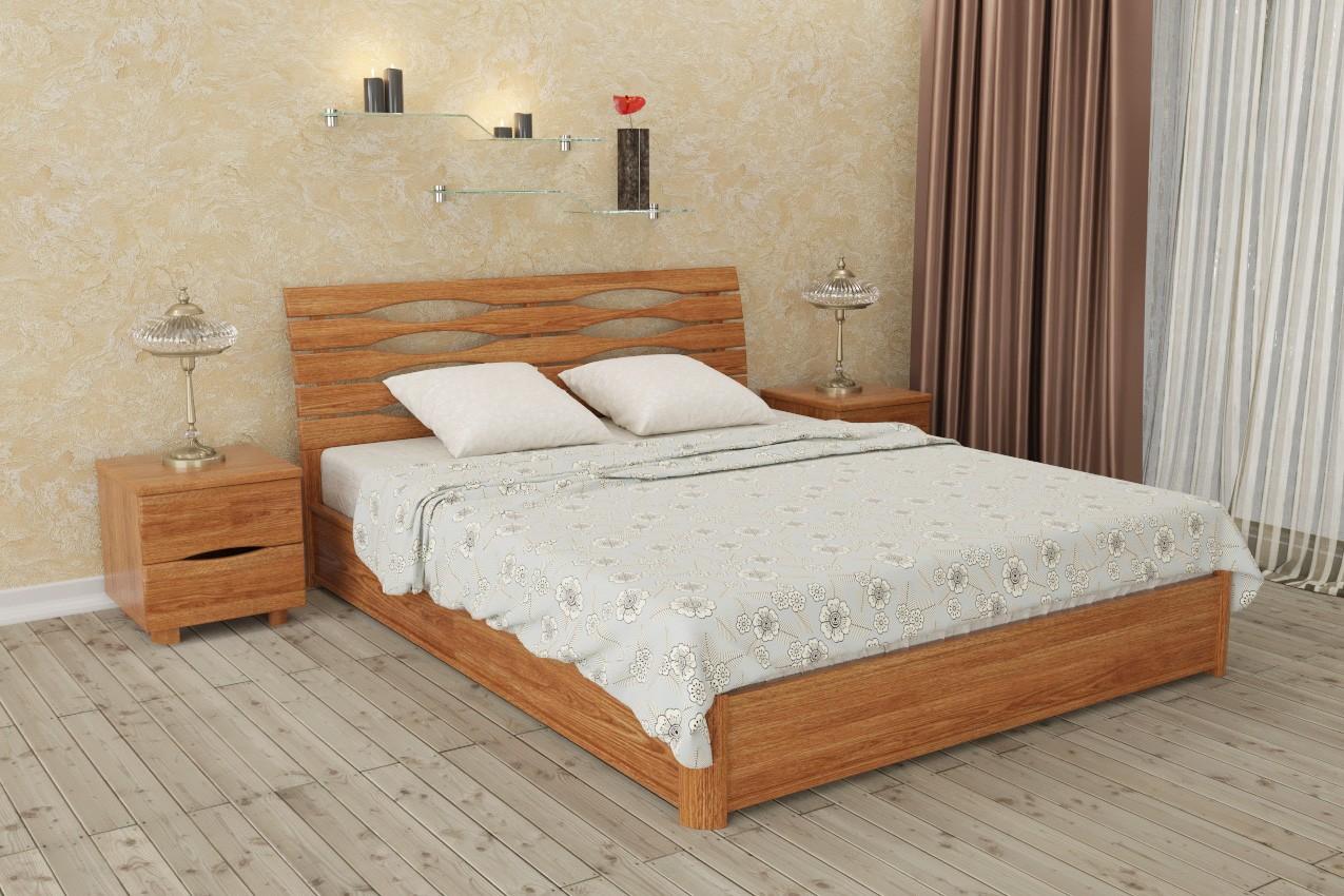 Фото Деревянная кровать Марита N от ТМ Олимп