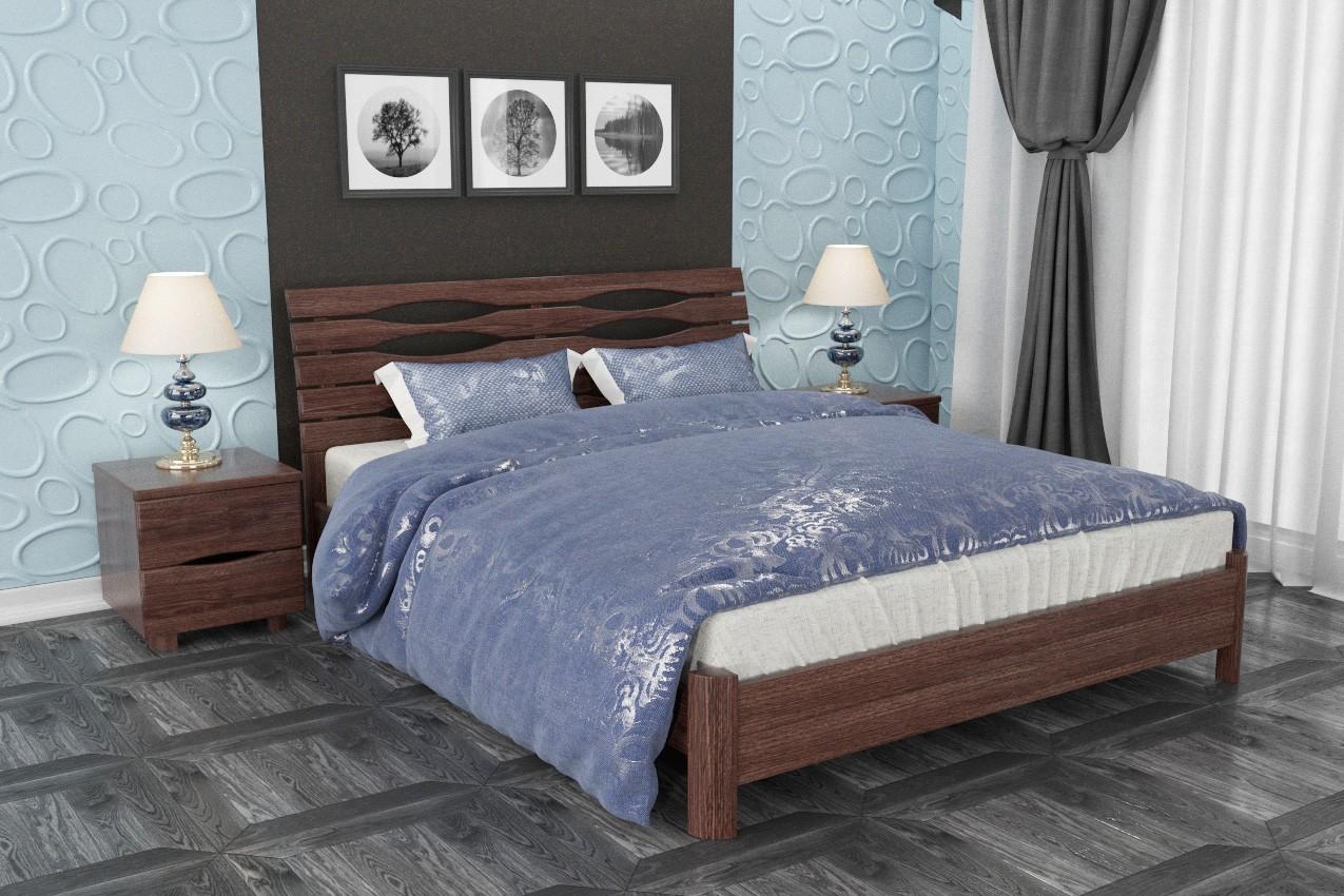 Фото Деревянная кровать Марита S от ТМ Олимп