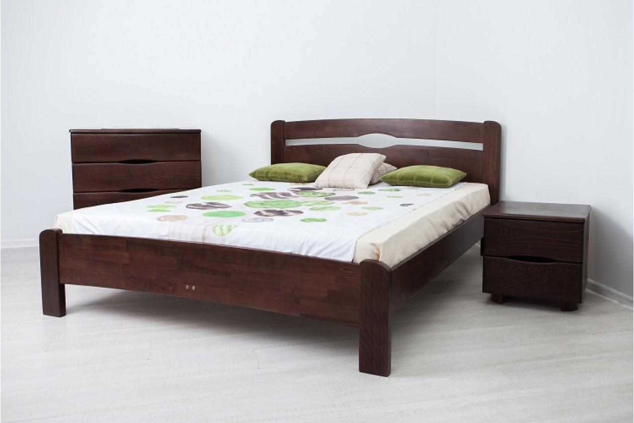 Деревянная кровать Нова без изножья от ТМ Олимп в интернет-магазине