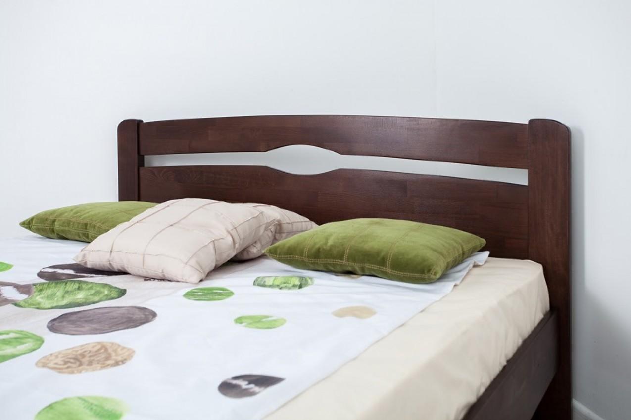 Деревянная кровать Нова без изножья от ТМ Олимп в Украине