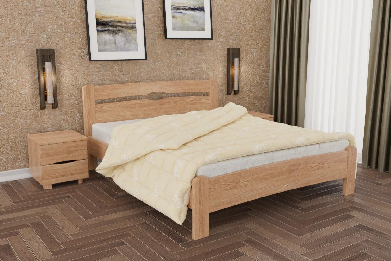 Фото Деревянная кровать Нова без изножья от ТМ Олимп