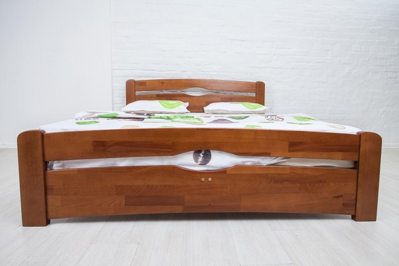 Деревянная кровать Нова с изножьем от ТМ Олимп в интернет-магазине