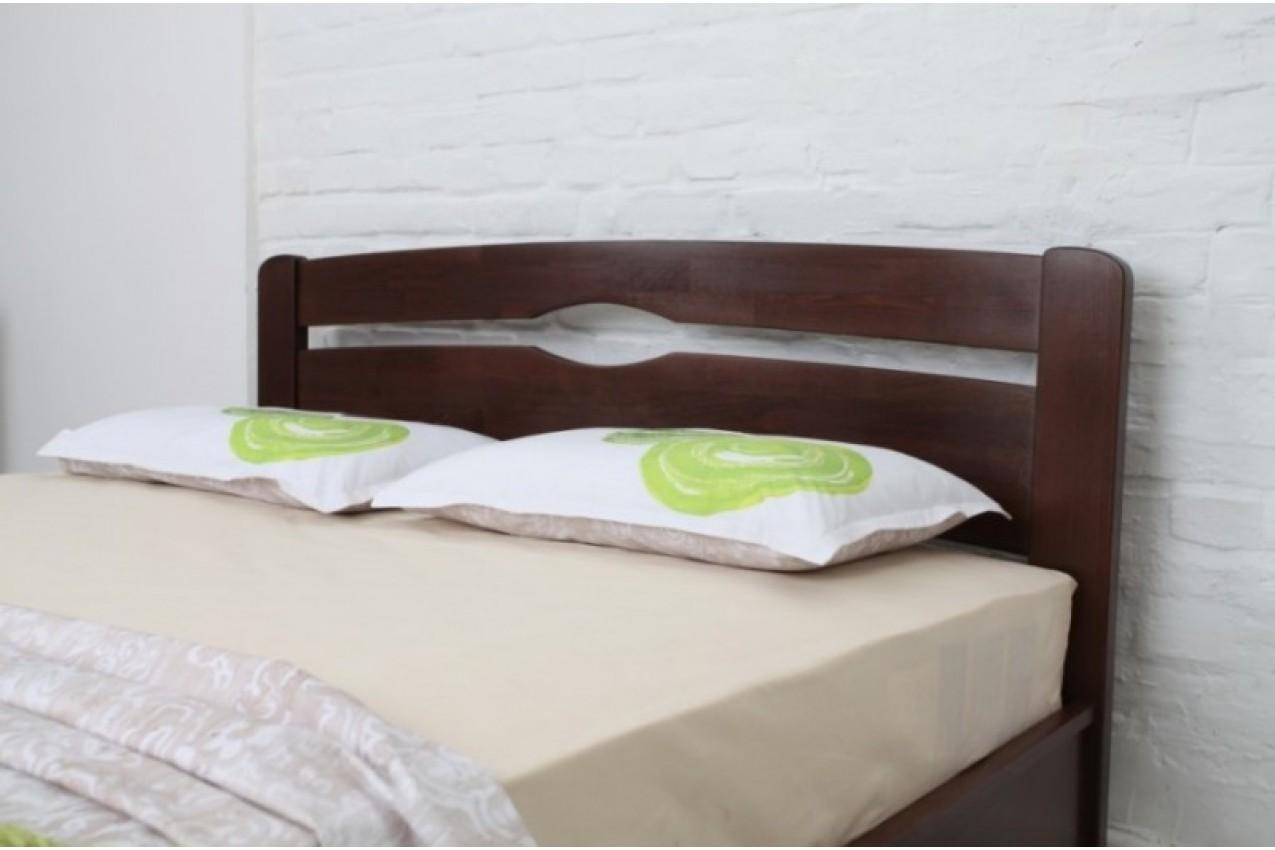 Деревянная кровать Нова с изножьем от ТМ Олимп недорого
