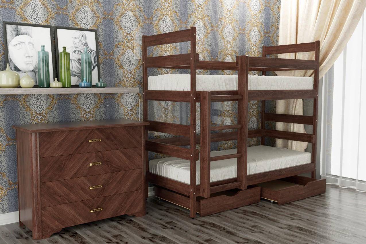 Фото Деревянная кровать Ясна от ТМ Олимп