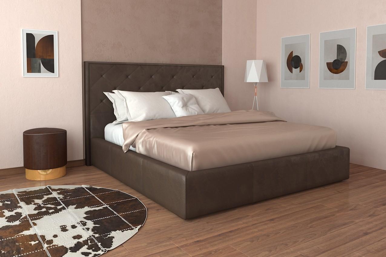 Фото Мягкая кровать Бристоль от ТМ Richman