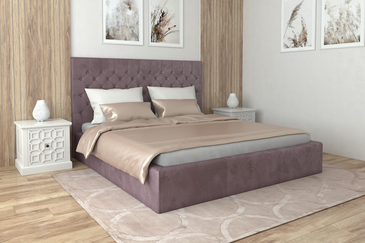 Фото Мягкая кровать Кембридж от ТМ Richman