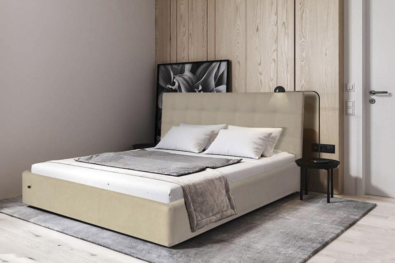 Фото Мягкая кровать Честер от ТМ Richman