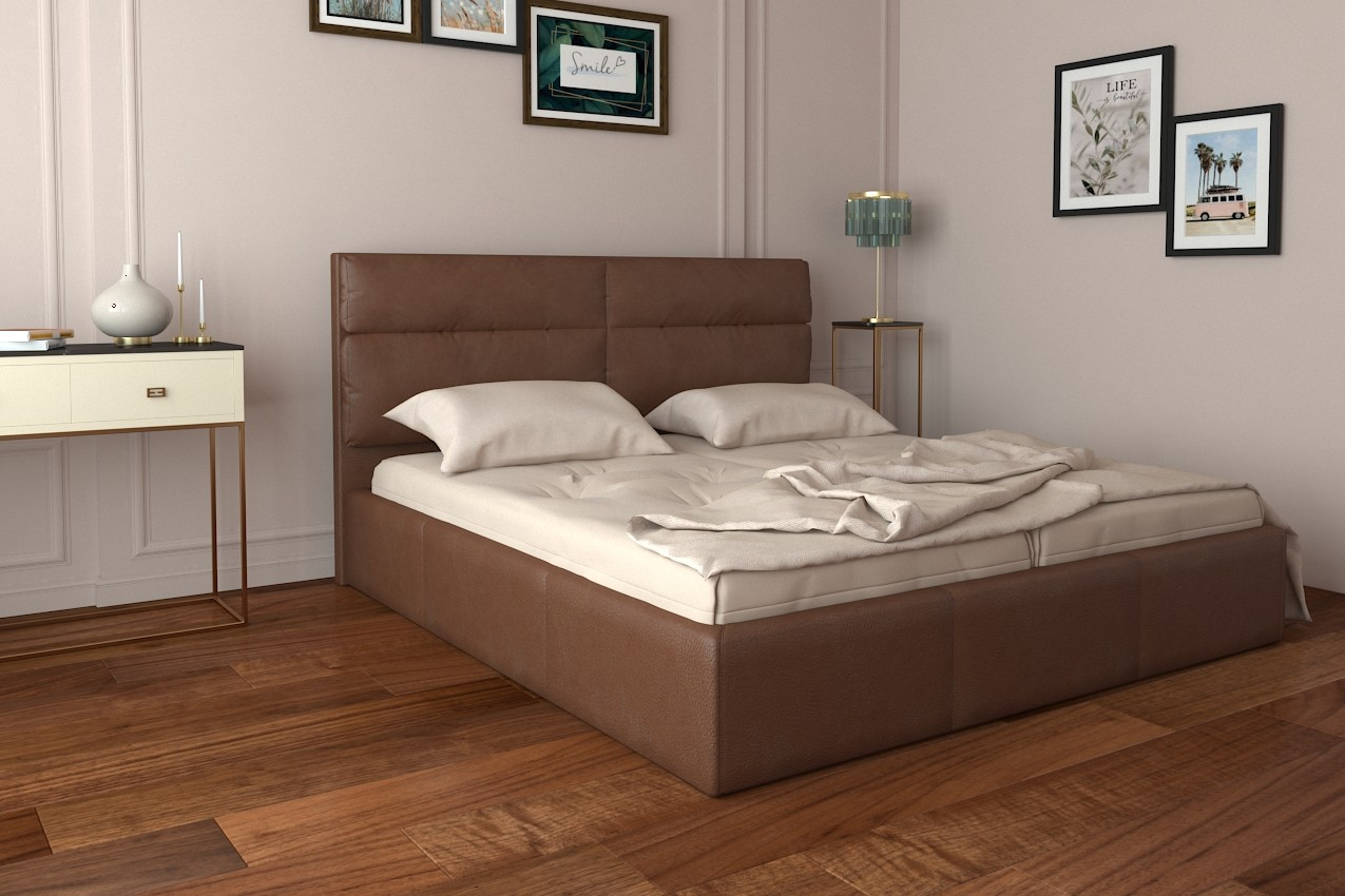 Фото Мягкая кровать Оксфорд от ТМ Richman